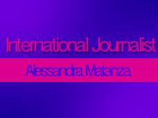 Journalist Alessandra Matanza